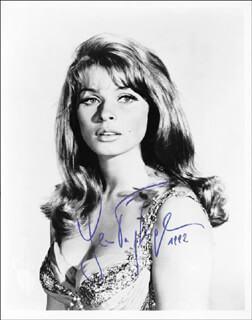 SENTA BERGER - AUTOGRAPHED SIGNED PHOTOGRAPH 1992