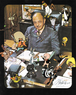 MEL BLANC - AUTOGRAPHED INSCRIBED PHOTOGRAPH
