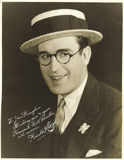 HAROLD LLOYD - AUTOGRAPHED INSCRIBED PHOTOGRAPH