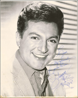 LIBERACE - AUTOGRAPHED INSCRIBED PHOTOGRAPH 1971