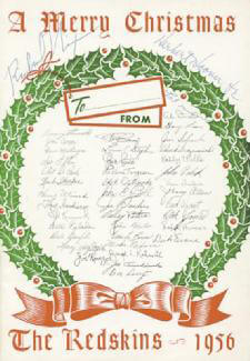 PRESIDENT RICHARD M. NIXON - PROGRAM SIGNED CIRCA 1956 CO-SIGNED BY: HERBERT C. HOOVER JR., FIRST LADY PATRICIA R. NIXON