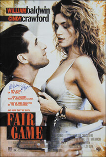 WILLIAM BALDWIN - AUTOGRAPHED SIGNED POSTER