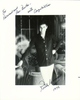 RODDY McDOWALL - AUTOGRAPHED INSCRIBED PHOTOGRAPH 1979