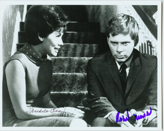 HOW TO SUCCEED IN BUSINESS WITHOUT REALLY TRYING MOVIE CAST - AUTOGRAPHED SIGNED PHOTOGRAPH CO-SIGNED BY: MICHELE LEE, ROBERT MORSE