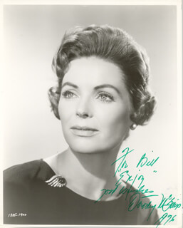 DOROTHY McGUIRE - AUTOGRAPHED INSCRIBED PHOTOGRAPH 1976