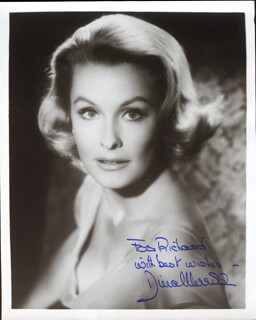 DINA MERRILL - AUTOGRAPHED INSCRIBED PHOTOGRAPH