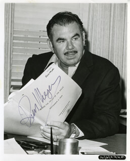 RUSS MEYER - AUTOGRAPHED SIGNED PHOTOGRAPH