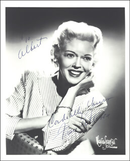 FRAN ALLISON - AUTOGRAPHED SIGNED PHOTOGRAPH