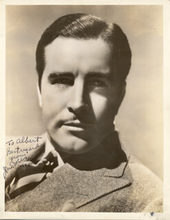 Autographs: JOHN BOLES - INSCRIBED PHOTOGRAPH SIGNED 1947
