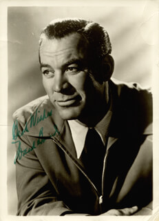 WARD BOND - AUTOGRAPHED SIGNED PHOTOGRAPH