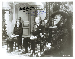 THE SCAPEGOAT MOVIE CAST - AUTOGRAPHED INSCRIBED PHOTOGRAPH CO-SIGNED BY: SIR ALEC GUINNESS, BETTE DAVIS