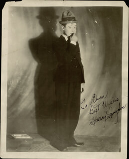 HARRY LANGDON - AUTOGRAPHED INSCRIBED PHOTOGRAPH