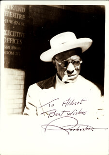 Autographs: EDDIE ROCHESTER ANDERSON - INSCRIBED PHOTOGRAPH SIGNED CIRCA 1946