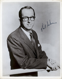 PHIL SILVERS - AUTOGRAPHED SIGNED PHOTOGRAPH  - HFSID 257439