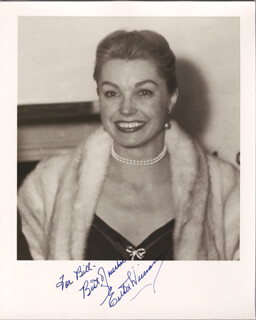 ESTHER WILLIAMS - AUTOGRAPHED INSCRIBED PHOTOGRAPH 12/13/1955