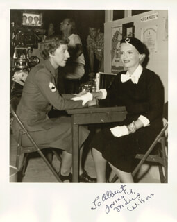 MARIE WILSON - AUTOGRAPHED INSCRIBED PHOTOGRAPH