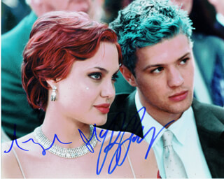 PLAYING BY HEART MOVIE CAST - AUTOGRAPHED SIGNED PHOTOGRAPH CO-SIGNED BY: RYAN PHILLIPPE, ANGELINA JOLIE