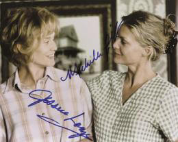 A THOUSAND ACRES MOVIE CAST - AUTOGRAPHED SIGNED PHOTOGRAPH CO-SIGNED BY: MICHELLE PFEIFFER, JESSICA LANGE