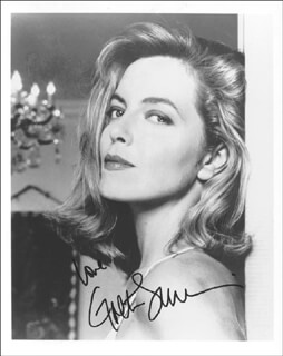 GRETA SCACCHI - AUTOGRAPHED SIGNED PHOTOGRAPH