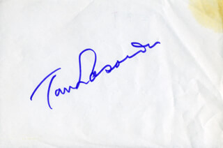 TOM LASORDA - AUTOGRAPH
