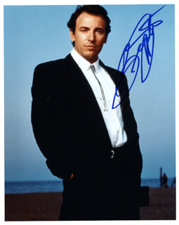 BRUCE THE BOSS SPRINGSTEEN - AUTOGRAPHED SIGNED PHOTOGRAPH