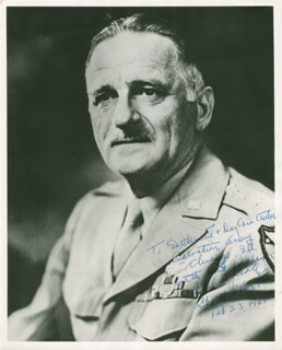 GENERAL CARL A. SPAATZ - AUTOGRAPHED INSCRIBED PHOTOGRAPH 02/23/1965