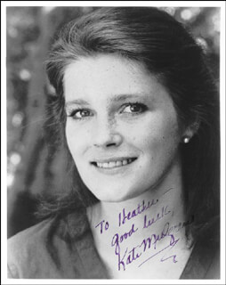 KATE MULGREW - AUTOGRAPHED SIGNED PHOTOGRAPH