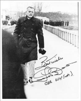 LLOYD M. BUCHER - AUTOGRAPHED SIGNED PHOTOGRAPH