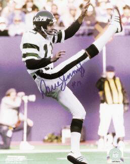 DAVE JENNINGS - AUTOGRAPHED SIGNED PHOTOGRAPH