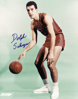 DOLPH SCHAYES - AUTOGRAPHED SIGNED PHOTOGRAPH