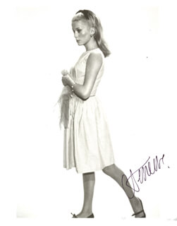 CATHERINE DENEUVE - AUTOGRAPHED SIGNED PHOTOGRAPH