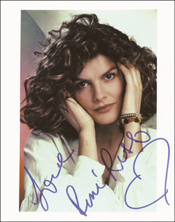 RENE RUSSO - AUTOGRAPHED SIGNED PHOTOGRAPH