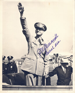 GENERAL JONATHAN M. WAINWRIGHT IV - AUTOGRAPHED SIGNED PHOTOGRAPH