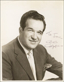AL CAPP - AUTOGRAPHED INSCRIBED PHOTOGRAPH