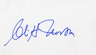 CLIFF NORTON - AUTOGRAPH