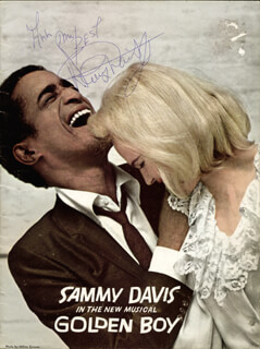 SAMMY DAVIS JR. - PROGRAM SIGNED CIRCA 1964