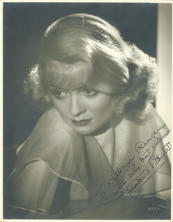 CONSTANCE BENNETT - AUTOGRAPHED INSCRIBED PHOTOGRAPH