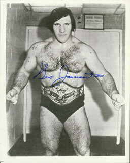 BRUNO SAMMARTINO - AUTOGRAPHED SIGNED PHOTOGRAPH
