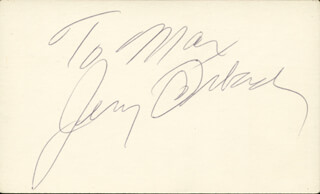 JERRY ORBACH - INSCRIBED SIGNATURE