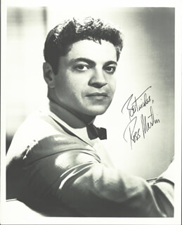 ROSS MARTIN - AUTOGRAPHED SIGNED PHOTOGRAPH