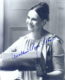 GERALDINE PAGE - AUTOGRAPHED SIGNED PHOTOGRAPH