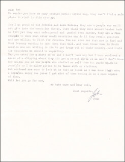 JOHN WAYNE GACY JR. - TYPED LETTER SIGNED 09/10/1989