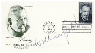 SIR WILLIAM GOLDING - FIRST DAY COVER SIGNED