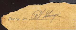 RICH GOOSE GOSSAGE - CLIPPED SIGNATURE
