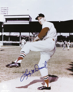 LINDY McDANIEL - AUTOGRAPHED SIGNED PHOTOGRAPH