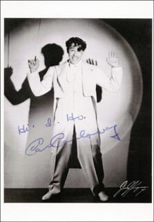 Autographs: CAB CALLOWAY - PICTURE POST CARD SIGNED