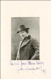 GUSTAVE CHARPENTIER - AUTOGRAPHED SIGNED PHOTOGRAPH