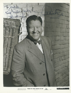 JACK OAKIE - AUTOGRAPHED INSCRIBED PHOTOGRAPH