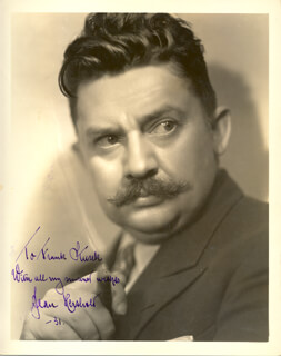 JEAN HERSHOLT - AUTOGRAPHED INSCRIBED PHOTOGRAPH 1931