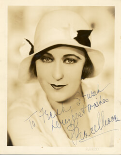 GRACE MOORE - AUTOGRAPHED INSCRIBED PHOTOGRAPH